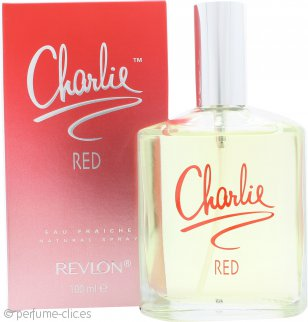 Revlon Charlie Red Eau Fraiche Eau De Toilette 100ml Vaporizador