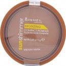 Rimmel Sun Shimmer Polvo Compacto Mate Medio - 11g