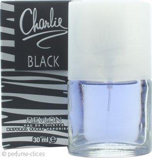 Revlon Charlie Black Eau de Toilette 30ml Vaporizador