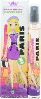 Paris Hilton Passport Paris Eau de Toilette 7.5ml Vaporizador