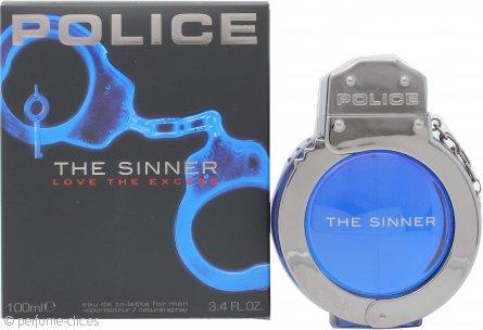 Police The Sinner Eau De Toilette 100ml Vaporizador