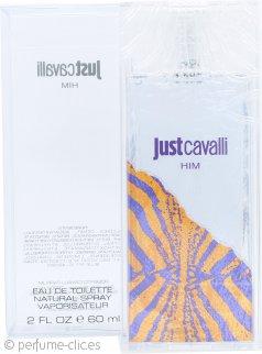 Roberto Cavalli Just Cavalli Him Eau de Toilette 60ml Vaporizador