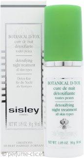 Sisley Botanical D-Tox Cura de Noche Desintoxicante 30ml - Todo Tipo de Pieles