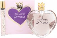 Vera Wang Princess Set de Regalo 100ml EDT + 10ml Bola Perfumante + 75ml Loción Corporal + Brillo Labial