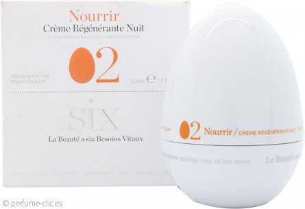 Six Cosmetics Nourish 02 Crema de Noche Regenerativa 50ml
