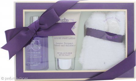 Style & Grace Kit Cuidado para Pies Set de Regalo 100ml Líquido Pies + 70ml Loción Pies + Calcetines