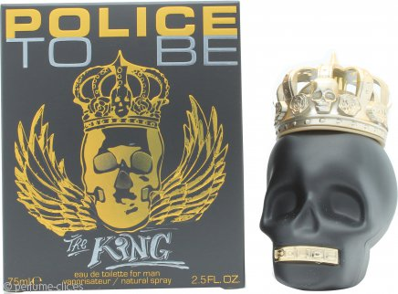 Police To Be The King Eau de Toilette 75ml Vaporizador