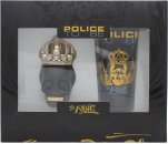 Police To Be The King Set de Regalo 40ml EDT Vaporizador + 100ml All Over Champú Corporal