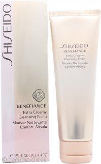 Shiseido Benefiance Espuma Limpiadora Extra Cremosa 125ml
