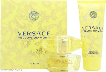 Versace Yellow Diamond Set de Regalo 50ml EDT + 100ml Loción Corporal