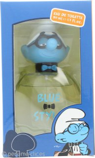The Smurfs Blue Style Brainy Eau de Toilette 50ml Vaporizador