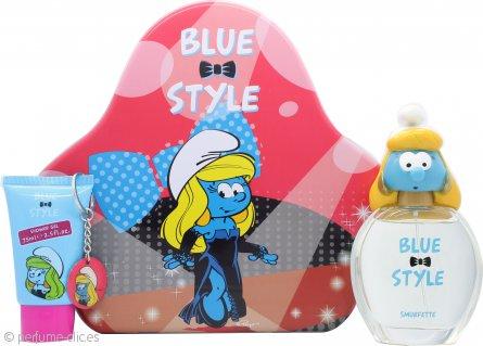 The Smurfs Smurfette Set de Regalo 100ml EDT + 75ml Gel de Ducha + Cadena de Llaves
