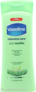 Vaseline Intensive Care Loción Corporal Alivio Aloe 400ml