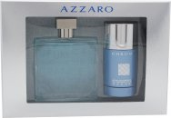 Azzaro Chrome Set de Regalo 100ml EDT + 75ml Desodorante de Barra