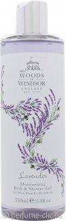 Woods of Windsor Lavender Gel de Ducha y Baño Hidratante 350ml