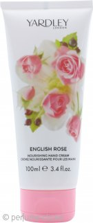 Yardley English Rose Crema de Manos Nutritiva 100ml
