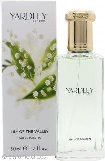 Yardley Lily of the Valley Eau de Toilette 50ml Vaporizador