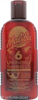 Malibu Aceite Bronceador 200ml SPF6
