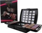 Active Glamour Beauty Booster Set de Maquillaje - 20 x Sombras Ojos, 2 x Coloretes, 1 x Lápiz de Ojos, Aplicadores, Espejo