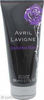 Avril Lavigne Forbidden Rose Gel de ducha 200ml