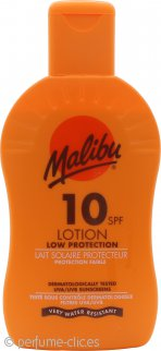 Malibu Loción Solar SPF10 Protección Baja 200ml Loción