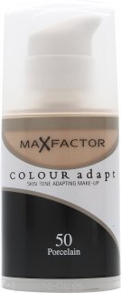 Max Factor Colour Adapt Base 34ml - #50 Porcelana