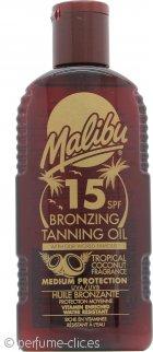 Malibu Aceite Bronceador 200ml SPF15
