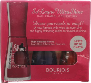 Bourjois So Laque Ultra Shine Set de Regalo 3 x 10ml - Trendy Nail Enamel