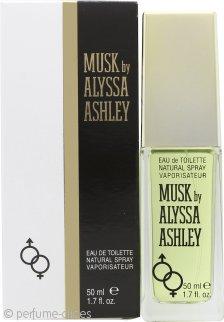 Alyssa Ashley Musk Eau de Toilette 50ml Vaporizador