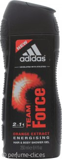 Adidas Team Force Gel de Ducha 250ml