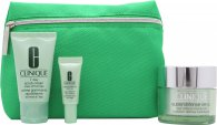 Clinique Daily Defenders Set de Regalo 50ml Clinique Superdefensa FPS 20 + 30ml 7 Crema Exfoliante de Día + 5ml Superdefensa FPS 20 Crema Ojos + Bolsa