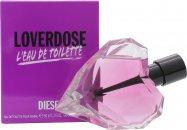Diesel Loverdose L'Eau de Toilette Eau de Toilette 50ml Vaporizador