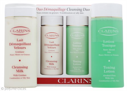 Clarins Cleansing and Toning Pack Dúo - Piel Mixta/Grasa 2 x 200ml