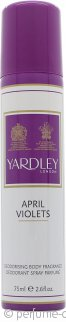 Yardley April Violets Vaporizador Corporal 75ml