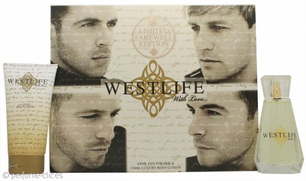 Westlife With Love Set de Regalo 100ml EDP + 150ml Loción Corporal
