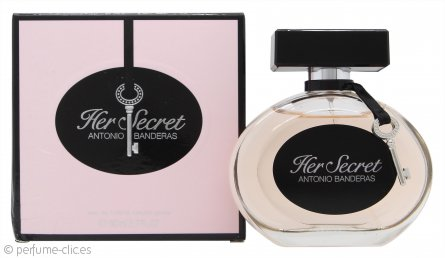 Antonio Banderas Her Secret Eau de Toilette 80ml Vaporizador