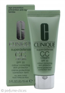 Clinique Superdefense Crema CC 15ml FPS30 - Clara/Media