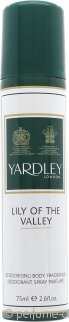 Yardley Lily of the Valley Vaporizador Corporal 75ml