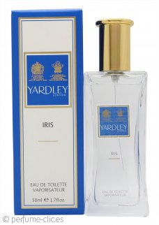 Yardley Iris Eau de Toilette 50ml Vaporizador