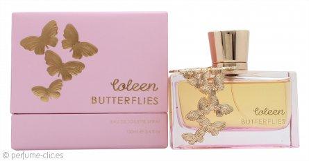 Coleen Coleen Butterflies Eau de Toilette 100ml Vaporizador