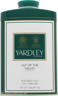 Yardley Lily of the Valley Talco Perfumado 200g