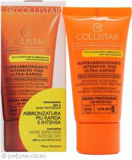 Collistar Speciale Abbronzatura Perfetta Tratamiento Facial Intensivo Super-Bronceado Ultra-Rápido 50ml SPF6