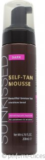 Sunkissed Instant Self Mousse Bronceadora 200ml - Bronceado Intenso