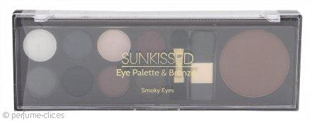 Sunkissed Paleta Ojos y Set Bronceadores – Ojos Ahumados 11 Piezas