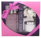 Style & Grace Luxury Retreat Set de Regalo - 500ml Luxury Crema de Baño + 170ml Manteca Corporal + Flor de Ducha (2015)