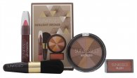 Sunkissed Sunlight Bronze Set de Regalo – Polvo Bronceador + Colorete + Brillo Labial + Brocha Bronceadora