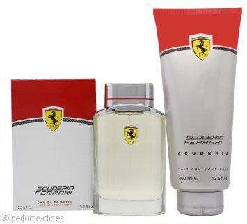 Ferrari Scuderia Ferrari Set de Regalo 125ml EDT + 400ml Gel de Ducha