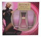 Beyoncé Heat Wild Orchid Set de Regalo 30ml EDP + 75ml Loción Corporal + 75ml Gel de Ducha