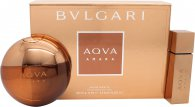 Bvlgari Aqva Amara Set de Regalo 100ml EDT + 15ml EDT