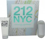 Carolina Herrera 212 Set de Regalo 60ml EDT + 100ml Loción Corporal